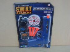 S.W.A.T academy.secret MISSION Set Pistola giocattolo Set con freccette di sicurezza.