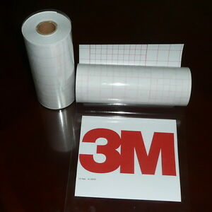"""12"""" x 50 FT Premium Tack Clear Transfer Tape / Application Tape"""