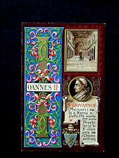 1903 Italy litho Vatican Catholic POPE GIOVANNI II Di Proietto Roma 206)