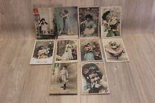 Lot de 10 cartes postales - Colorées 22