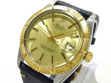 Auth ROLEX Datejust/Thunderbird 1625 ChampagneGold Black 18K Yellow Gold 538747