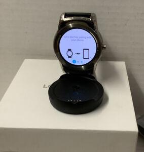 ⚡️LG Urbane LG-W150 Wearable Smart Watch – Black/Silver ‼️ Open Distressed Box