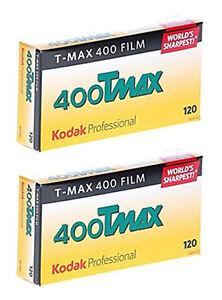 (10 Rolls) Kodak TMAX 400 120 Film TMY T-Max Black & White B&W FRESH Exp:2/2022