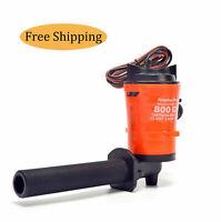 Rocker switch 735 red 12V FRESH WATER bait fishing aerator pump