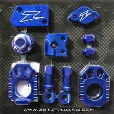 Zeta Racing MX Motocross Billet Bike Kit - Yamaha YZ125/250 06-19 - Blue
