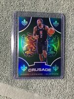 KAWHI LEONARD 2019-20 Panini Chronicles Crusade Rare Green PRIZM #533 Clippers