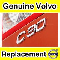 Genuine Volvo C30 (-10) Badge / Emblem
