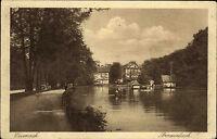 Eisenach Thüringen AK ~1920/30 Prinzenteich Parkanlage mit Häuser ungelaufen