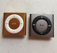 Used Apple iPod Mini Shuffle 2GB MP3 Player Music 4th Gen Gold/white