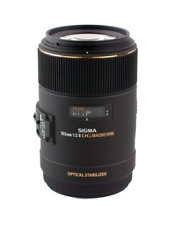 Sigma 105mm F2.8 EX DG OS Macro obiettivo: Nikon CA2616