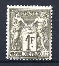 "FRANCE STAMP TIMBRE N° 72 "" SAGE 1F BRONZE 1876 "" NEUF x TB SIGNE  N768"