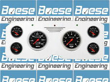55 56 57 58 59 GMC Truck Billet Gauge Panel Dash Insert Instrument Cluster