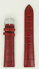 Seiko SNM005 Brown Leather Calf E 20mm Watch Band SNM013K1 Watch Strap 7S35 00C0