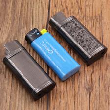 Black floral design lighters case fit for mini size Cricket lighters,DCRS2