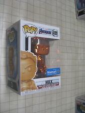 Funko Pop! Marvel Avengers Endgame: ORANGE CHROME HULK #499 - Walmart Exclusive