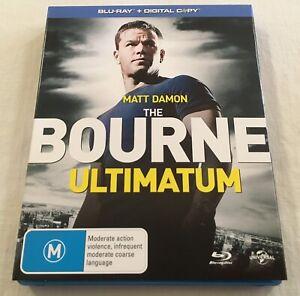 The Bourne Ultimatum (2007) - Slipcover + Blu-Ray Region Free | Like-New