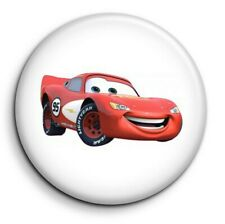 Cars Flash mc queen - Badge Epingle 38mm Button Pin