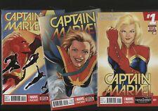 Captain Marvel 1-7 Marvel Comics Near Mint/Mint Unread