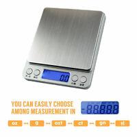 Balance électronique de Précision 0.01g - 500g Pèse de Poche Scale Bijoux