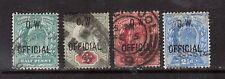 Great Britain #O49 - #O52 VF Used & Scarce