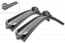 "BMW 5 7 BOSCH AeroTwin Front Wiper Blades PAIR 650/450mm 26"" 18"" A523S 2008-"