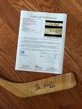 RARE Chicago Blackhawks Wayne Gretzky Stan Mikita Signed Hockey Stick JSA LOA
