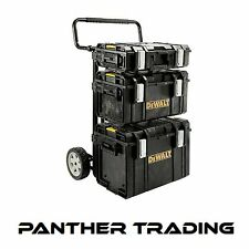 DEWALT Heavy Duty Toughsystem ™ 4 IN 1 TROLLEY KIT include 3 DS Toolboxes