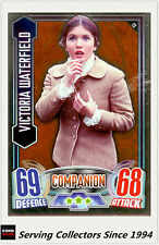 2012 Topps Doctor Who Alien Attax Collectors Card Mirror Foil#19 V. Waterfield