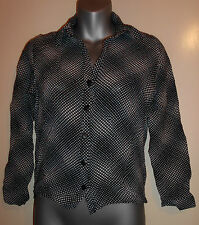 New Look Women's Blouse Collared Waist Length Tops & Shirts