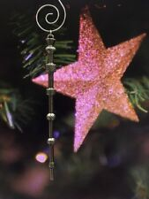 Professor Dumbledore's Wand Christmas Tree Ornament Harry Potter Fan Gift