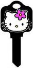"HELLO KITTY "" BLACK "" House Key Blank Kw1 SANRIO KWIKSET TV"