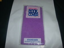 1 NEW Purple Book Cover Stretchable Fabric Sox School Student book sock (B122)