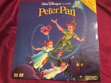 Disney Peter Pan CLV  laserdisc