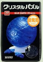 Crystal puzzle Blue Earth 39 piece 3d jigsaw
