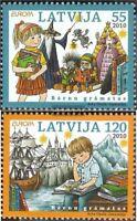 Lettland 783-784 (kompl.Ausg.) postfrisch 2010 Europa