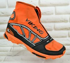 VIKING VERTEX MID Gore-Tex Mens Boots Walking Waterproof Orange Size 7 UK 41 EU