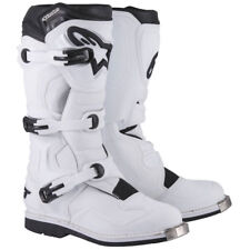 STIVALI ALPINESTARS TECH 1 BIANCO N.10/44,5  MOTOCROSS ENDURO QUAD