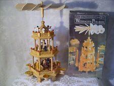 Alte Weihnachtspyramide Traditionelle Senator Collection 3 Stufig Höhe 38 cm