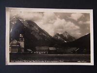 Ansichtskarte Ober Leutasch bei Seefeld an der Mittenwaldbahn Tirol - 01764