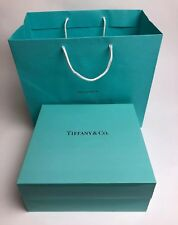 "Authentic Tiffany &co. Empty Box 8.25� x 8"" x 3�"