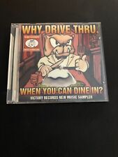Why Drive Thru When You Can Dine In? Victory Records New Music Sampler CD