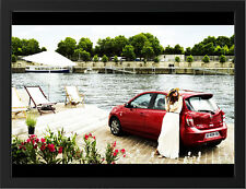 """NISSAN MICRA ELLE A3 FRAMED PHOTOGRAPHIC PRINT 15.7""""x11.8"""""""