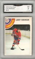 1978-79 O-Pee-Chee #210 Larry Robinson | Graded NM | Montreal Canadiens