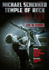 Michael Schenker: Temple of Rock - Live in Europe (2013, DVD NUEVO) (REGION 0)