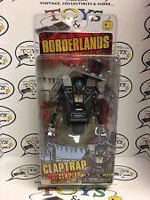 "4"" GENTLEMAN CALLER tuxedo tux CLAPTRAP figure BORDERLANDS robot CL4P-TP neca"