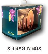 Vino Bianco Risacca Bag in Box lt.10 (3 pz) - Vini Sfusi Sardegna -