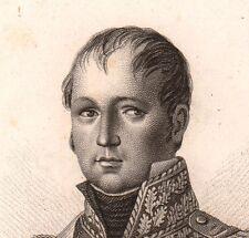 GENERAL Étienne Maurice Gérard Napoléon Bonaparte Premier EMPIRE 1818
