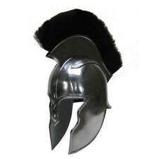 Achilles Troy Helmet Silver One Size roman barbute spartan