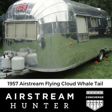 1956 / 1957 Airstream Flying Cloud - 13 Panel / Whale Tail