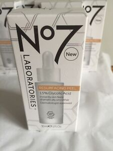 No7 Laboratories Resurfacing Face Peel Exfoliator 15% Glycolic Acid 30 ml